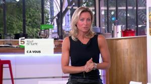 Anne-Sophie Lapix dans C à Vous - 03/09/13 - 02