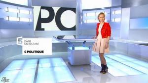 Caroline Roux dans C Politique - 10/02/13 - 01