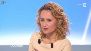 Caroline Roux dans C Politique - 11/01/13 - 32