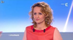 Caroline Roux dans C Politique - 21/04/13 - 05