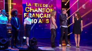 Claire Keim dans la Fête de la Chanson Francaise - 29/11/13 - 10