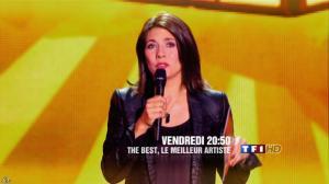 Estelle Denis dans une Bande-Annonce de The Best - 24/07/13 - 02