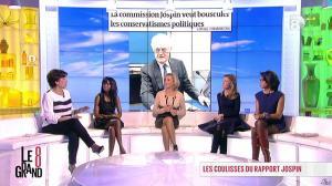 Hapsatou Sy, Laurence Ferrari et Audrey Pulvar dans le Grand 8 - 13/11/12 - 12