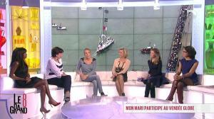 Hapsatou Sy, Laurence Ferrari et Audrey Pulvar dans le Grand 8 - 13/11/12 - 36