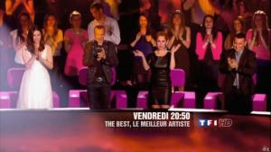 Lara Fabian dans Bande Annonce de The Best - 29/07/13 - 02