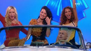 Les Gafettes, Fanny Veyrac, Doris Rouesne et Nadia Aydanne dans le Juste Prix - 12/02/13 - 01