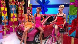 Les Gafettes, Fanny Veyrac, Doris Rouesne et Nadia Aydanne dans le Juste Prix - 12/10/12 - 09