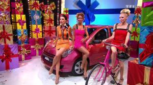 Les Gafettes, Fanny Veyrac, Doris Rouesne et Nadia Aydanne dans le Juste Prix - 12/10/12 - 10