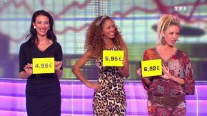 Les Gafettes, Fanny Veyrac, Doris Rouesne et Nadia Aydanne dans le Juste Prix - 21/11/13 - 01