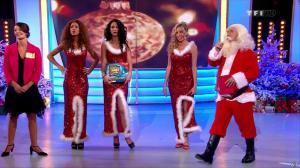 Les Gafettes, Fanny Veyrac, Doris Rouesne et Nadia Aydanne dans le Juste Prix - 24/12/12 - 18