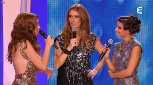 Natasha Saint Pier et Céline Dion dans les Chansons d'Abord - 05/12/13 - 15