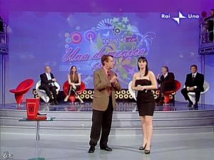 Alba Parietti et Lorena Bianchetti dans Domenica in - 01/03/09 - 14