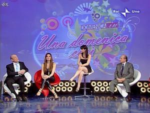 Alba Parietti et Lorena Bianchetti dans Domenica in - 01/03/09 - 17