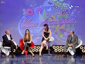 Alba Parietti et Lorena Bianchetti dans Domenica in - 01/03/09 - 18