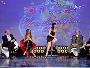 Alba Parietti et Lorena Bianchetti dans Domenica in - 01/03/09 - 19