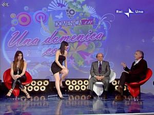 Alba Parietti et Lorena Bianchetti dans Domenica in - 01/03/09 - 21