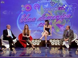 Alba Parietti et Lorena Bianchetti dans Domenica in - 01/03/09 - 31