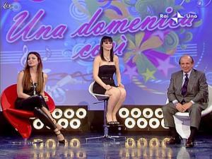 Alba Parietti et Lorena Bianchetti dans Domenica in - 01/03/09 - 46