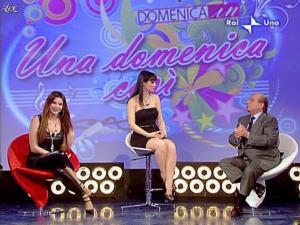 Alba Parietti et Lorena Bianchetti dans Domenica in - 01/03/09 - 48