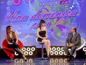 Alba Parietti et Lorena Bianchetti dans Domenica in - 01/03/09 - 50