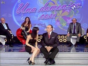 Alba Parietti et Lorena Bianchetti dans Domenica in - 01/03/09 - 57