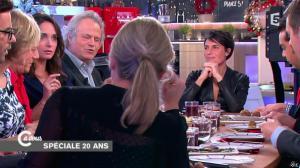 Alessandra Sublet dans C à Vous - 11/12/14 - 06