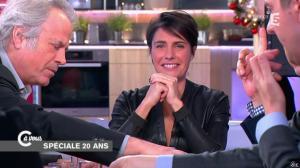 Alessandra Sublet dans C à Vous - 11/12/14 - 07