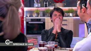 Alessandra Sublet dans C à Vous - 11/12/14 - 08