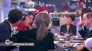 Alessandra Sublet dans C à Vous - 11/12/14 - 10