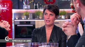 Alessandra Sublet dans C à Vous - 11/12/14 - 11