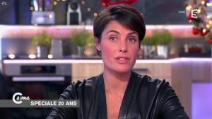 Alessandra Sublet dans C à Vous - 11/12/14 - 12