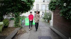 Alessandra Sublet et Julia Vignali dans C à Vous - 30/12/14 - 01