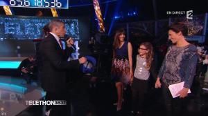 Alessandra Sublet dans Téléthon - 06/12/14 - 01