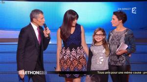 Alessandra Sublet dans téléthon - 06/12/14 - 02