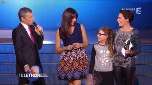 Alessandra Sublet dans Téléthon - 06/12/14 - 03