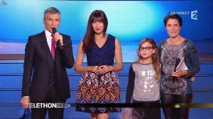 Alessandra Sublet dans Téléthon - 06/12/14 - 04