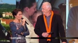 Alessandra Sublet dans Téléthon - 06/12/14 - 06