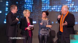 Alessandra Sublet dans Téléthon - 06/12/14 - 08