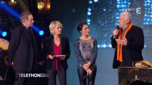 Alessandra Sublet dans Téléthon - 06/12/14 - 09