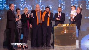 Alessandra Sublet dans Téléthon - 06/12/14 - 10