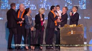 Alessandra Sublet dans Téléthon - 06/12/14 - 11