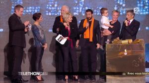 Alessandra Sublet dans Téléthon - 06/12/14 - 12