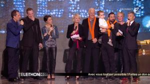 Alessandra Sublet dans téléthon - 06/12/14 - 14