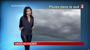 Anaïs Baydemir à la Météo de 13h - 05/12/14 - 02