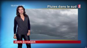 Anaïs Baydemir à la Météo de 13h - 05/12/14 - 16