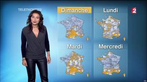 Anaïs Baydemir à la Météo de 13h - 05/12/14 - 23