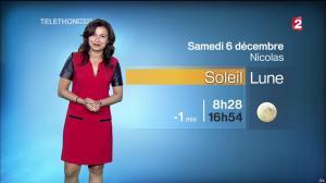 Anaïs Baydemir à la Météo de 20h - 05/12/14 - 37