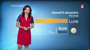 Anaïs Baydemir à la Météo de 20h - 05/12/14 - 38