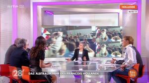 Anna Cabana et Nadia Daam dans 28 Minutes - 19/12/14 - 02