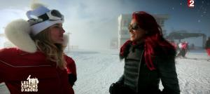 Ariane Brodier et Shy'm dans les Copains d'Abord Font du Ski - 25/12/14 - 16